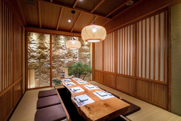ตกแต่งร้านอาหารสไตล์ญี่ปุ่น