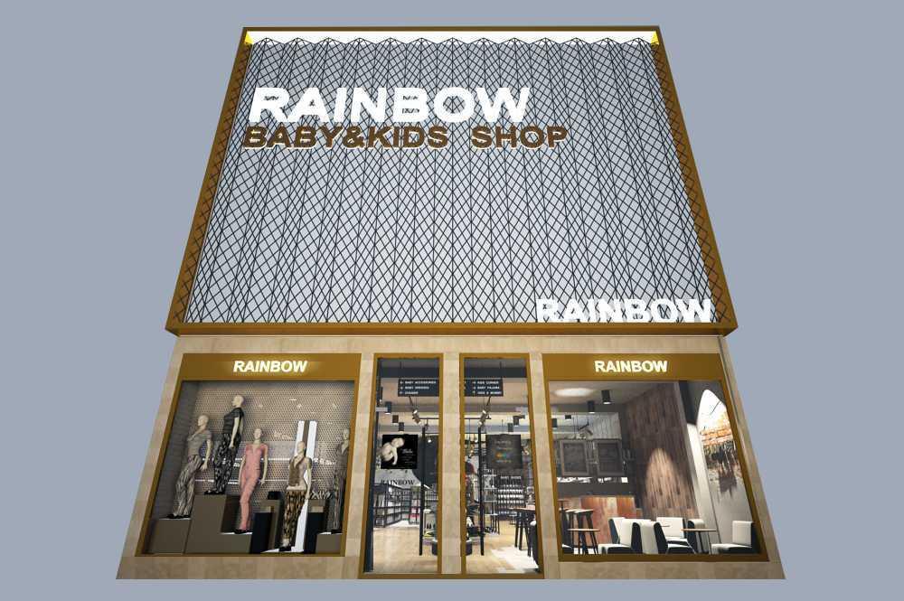 รับออกแบบตกแต่งร้านเสื้อผ้า