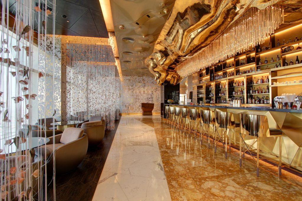 ออกแบบตกแต่งภายในโรงแรมส่วนบาร์บริการ