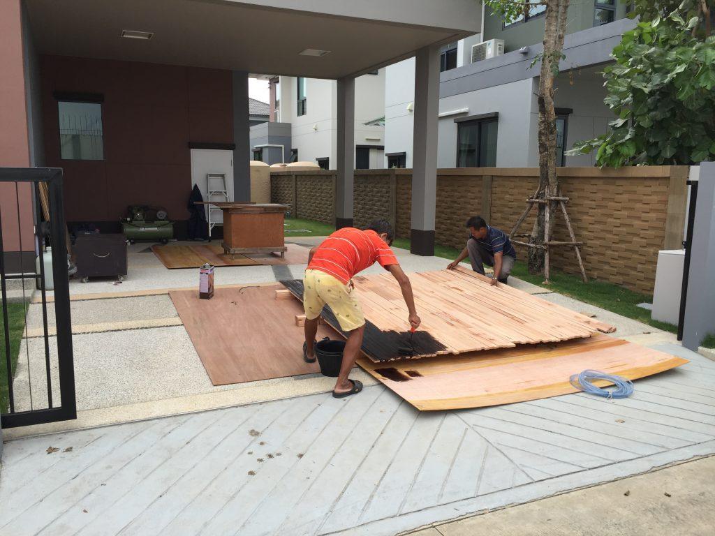 งานไม้เพาะโครง