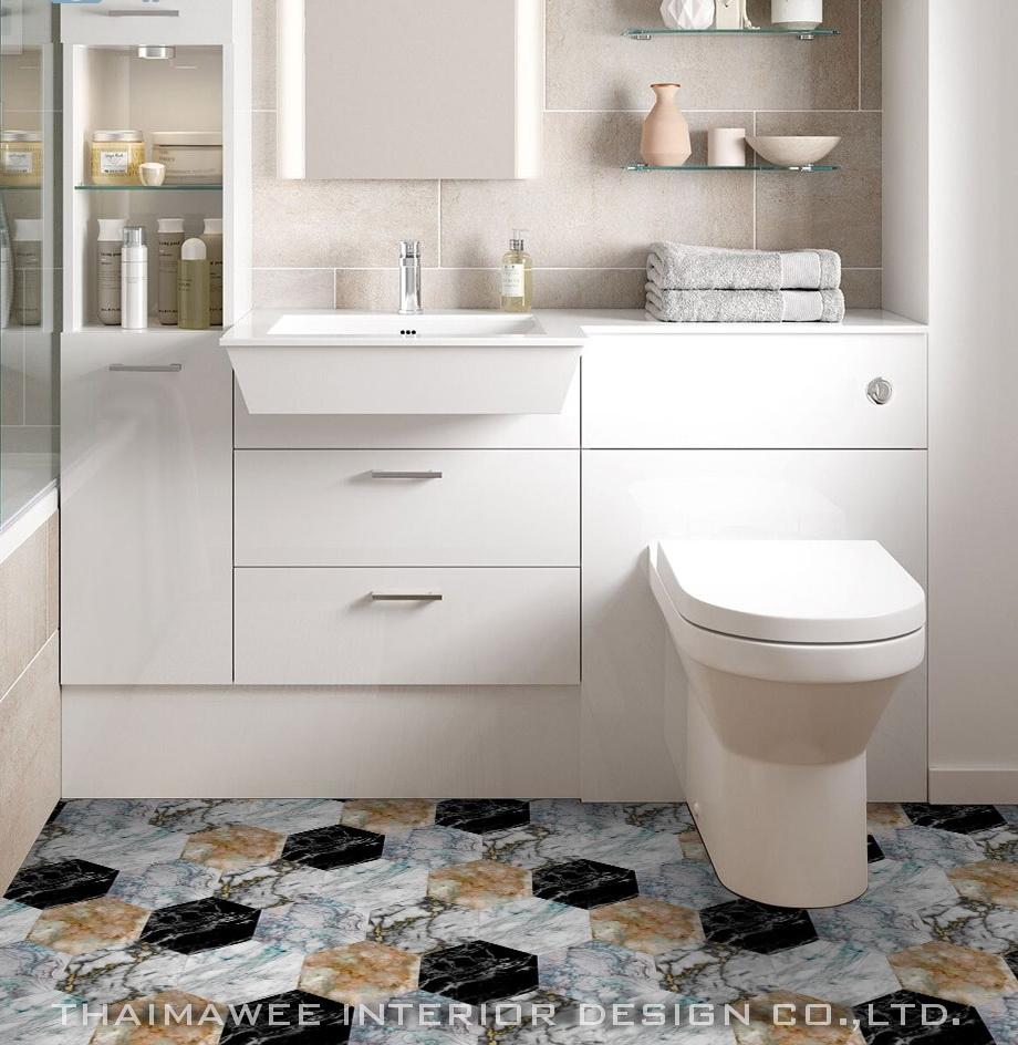 ออกแบบตกแต่งห้องน้ำ