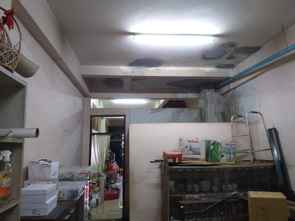ปัญหาเพดานน้ำรั่วซึม