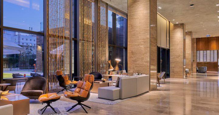 รับออกแบบตกแต่งล็อบบี้โรงแรม