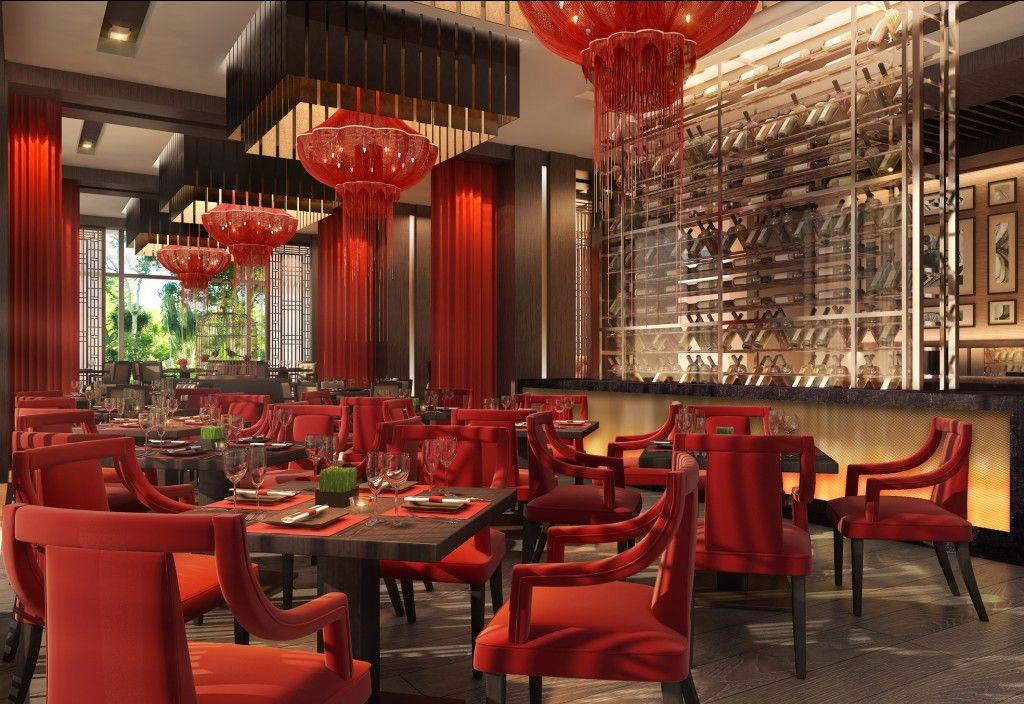 รับออกแบบตกแต่งร้านอาหารจีน