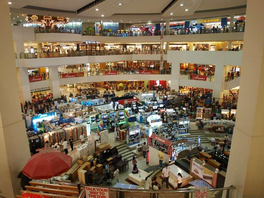 รับออกแบบตกแต่งร้านค้าในห้างสรรพสินค้า