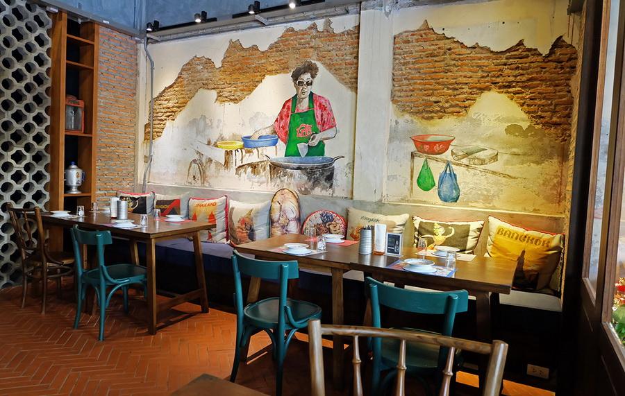 รับออกแบบตกแต่งร้านอาหารไทย