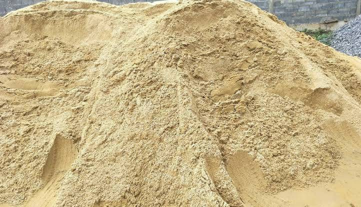 ทรายในงานก่อสร้าง