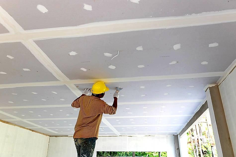 ทำฝ้าเพดานให้สวย